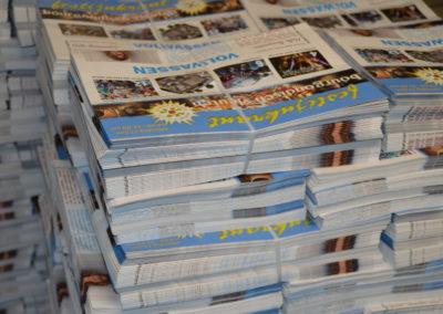 Festijn op het plein – Bourgondisch Vleuten krant