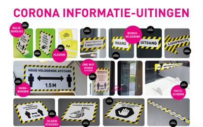 Corona informatie-uitingen